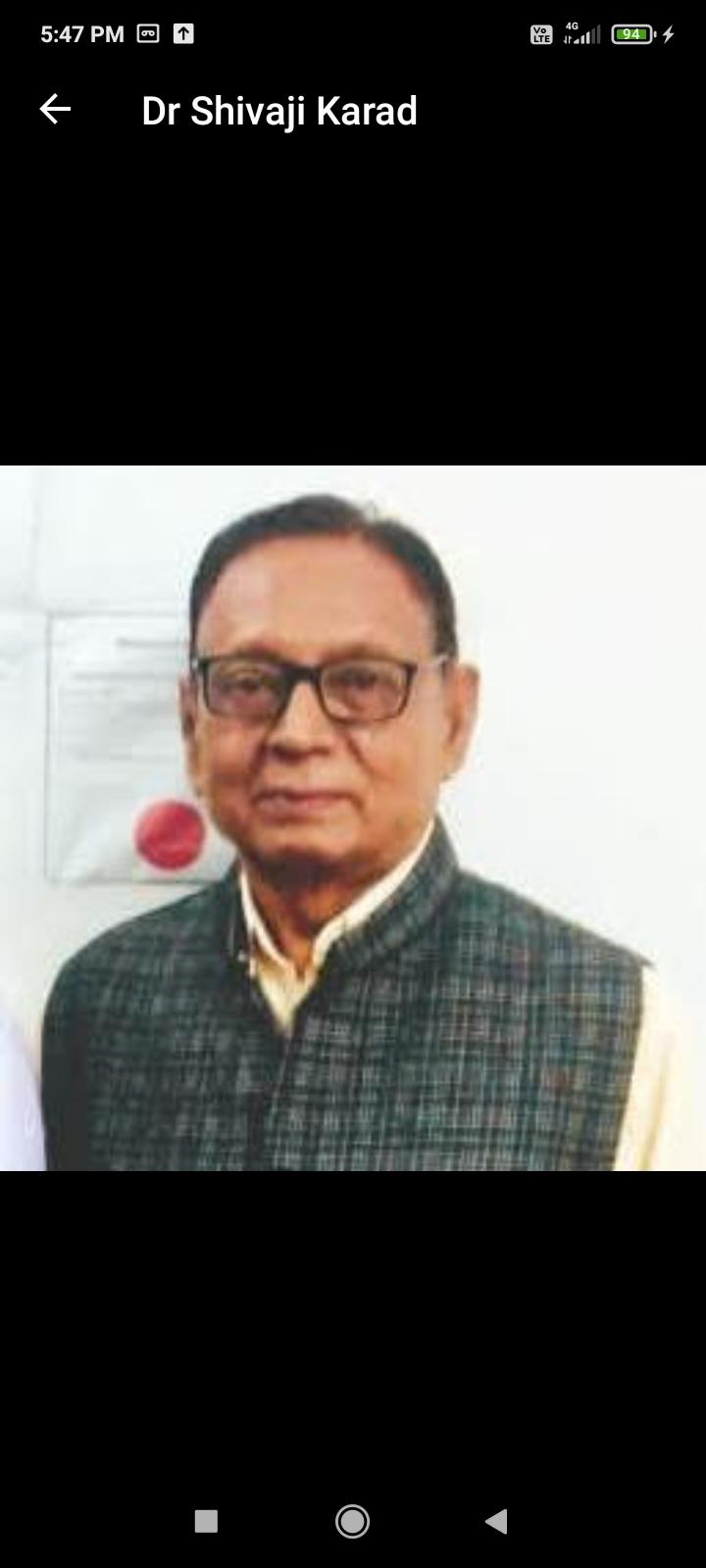 Dr. Shivaji Karad
